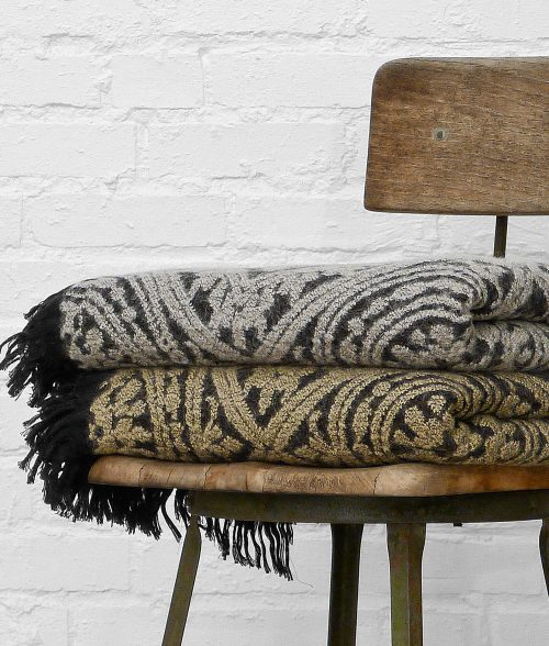 Bohemian Antiquity Fringed Throw